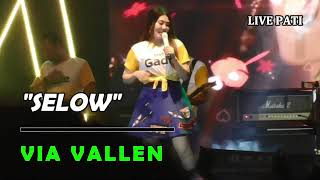 Via Vallen - Selow || Live Alun-alun Simpang 5 Pati || Kemilau Emas Pegadaian