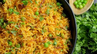 MASALA MUTTER PULAO | Easy Spicy Masala Mutter Pulao| Green peas Pulao| By Chef Aadil Hussain