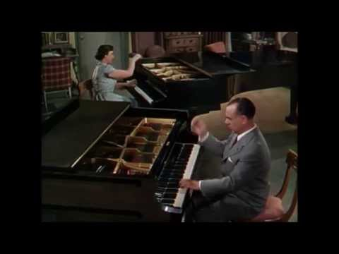 Jose Iturbi and sister Amparo play Revolutionary Etude by Frederic Chopin