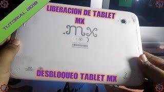 Desbloqueo Tablet MX Con Bloqueo Intel - 2017 - 2018 ¦ GaryPC
