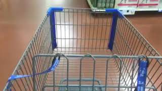 Empty grocery cart, From YouTubeVideos
