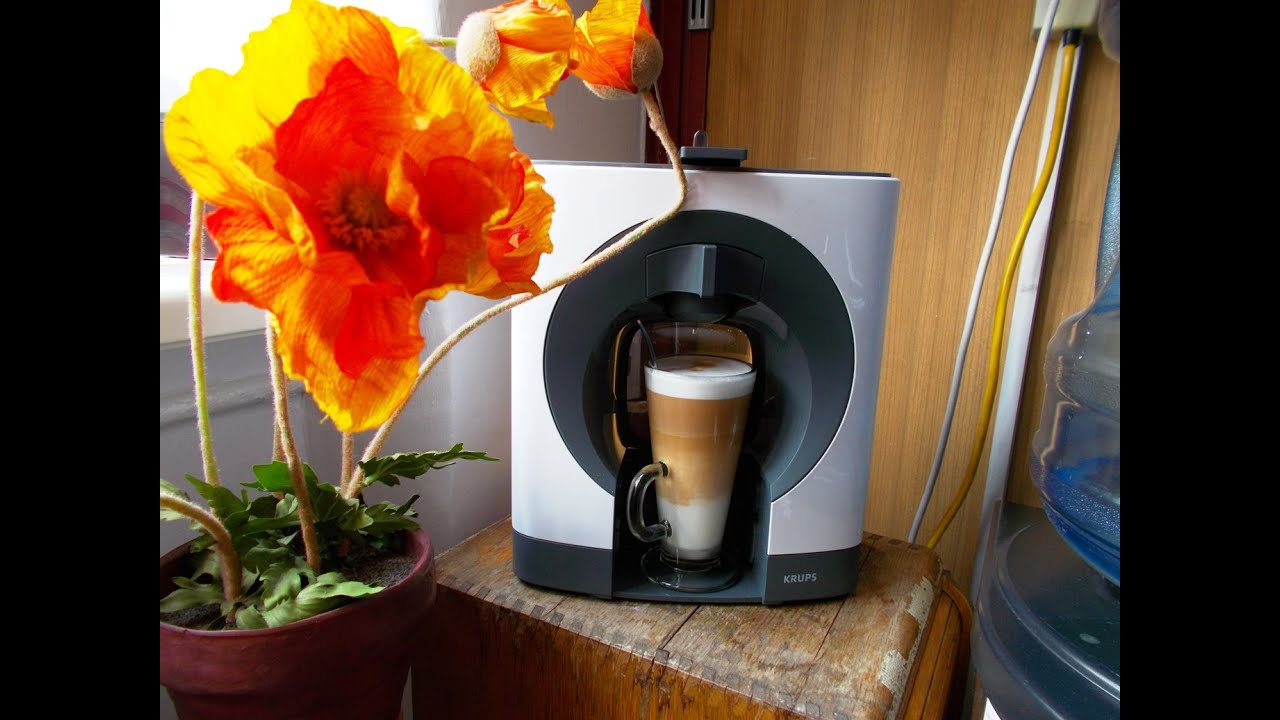 8ab1faf77 How to make a latte using Dolce Gusto Oblo - YouTube
