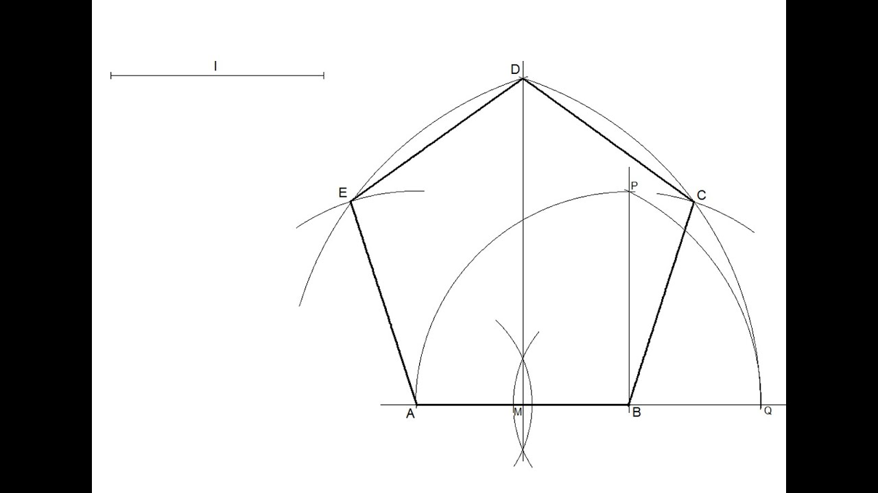 How to Construct a Regular Heptagon: 8 Steps (with Pictures) Pictures of a regular pentagon