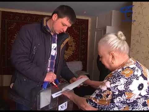 Белгородцы пользуются правом голосования на дому