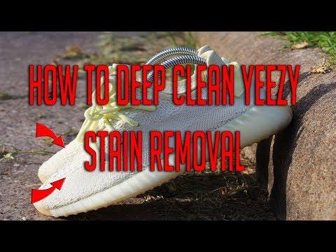 Yeezy Deep Cleaning Whiten Boost w/ Shoe MGK