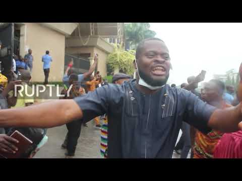 Nigeria: Protesters rally in support of pro-Biafra political activist Nnamdi Kanu in Abuja