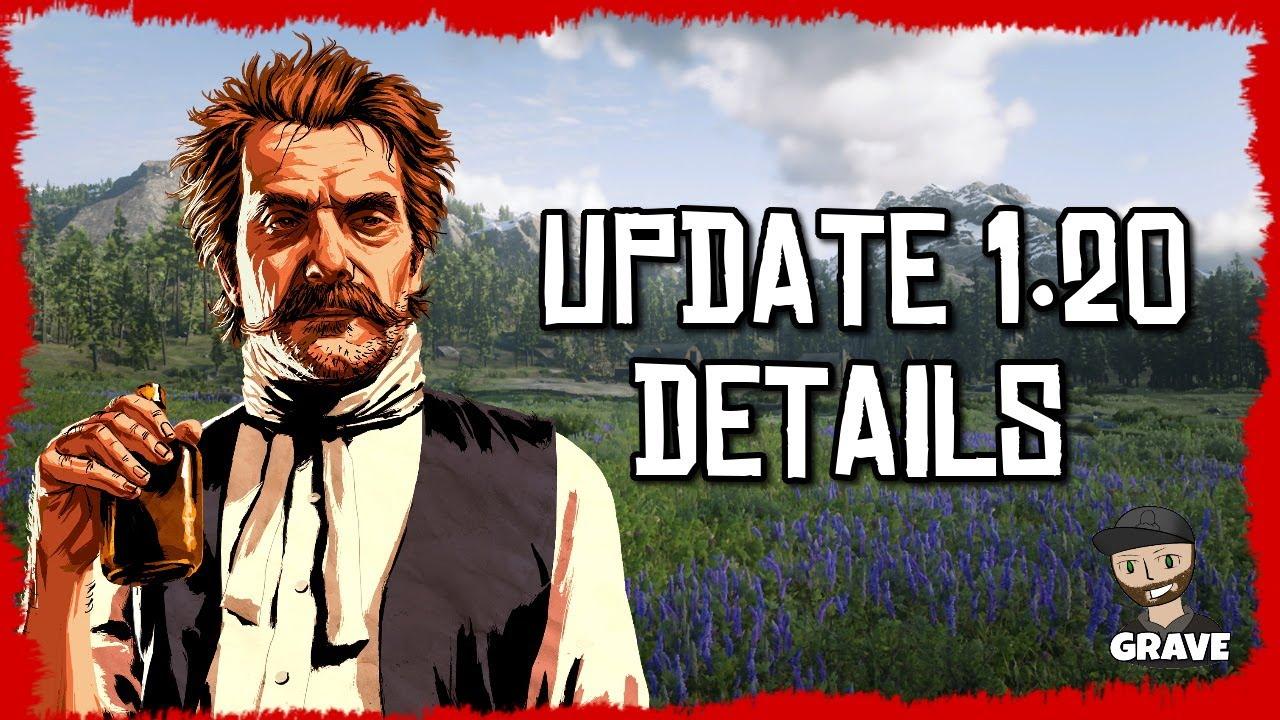 😁Red Dead Redemption 2 Update 1.20 Details thumbnail