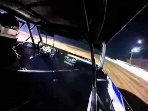 Kendall Rea's crash at Abilene Speedway. 5/2/2015
