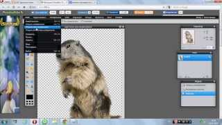 Видеоурок №2.Как создать ПАК в фотошопе онлайн(от ЩавЕля).