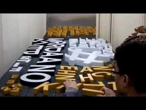 channel letter (epoxy) - www.Thinkchannel.co.kr