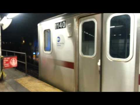 R142 4 Train Going OOS at Brooklyn Bridge on the local track