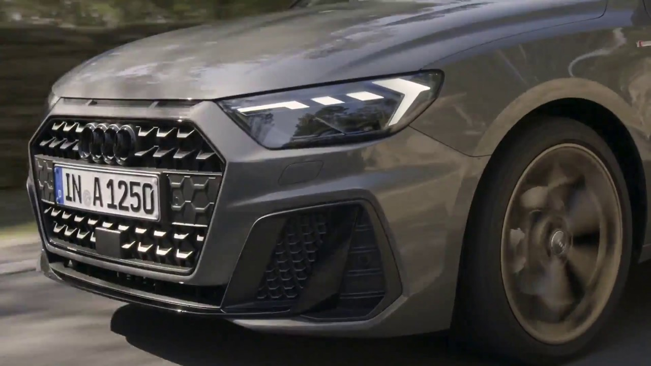 The New Audi A1 Sportback Driving Video In Chronos Grey