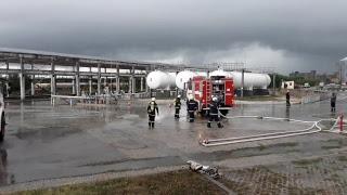 Мащабно пожаро-тактическо учение в Добрич