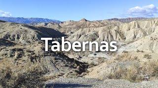 Walking Around Europe's Only Desert 🌵   Tabernas, Almeria, Andalusia, Spain 🇪🇸