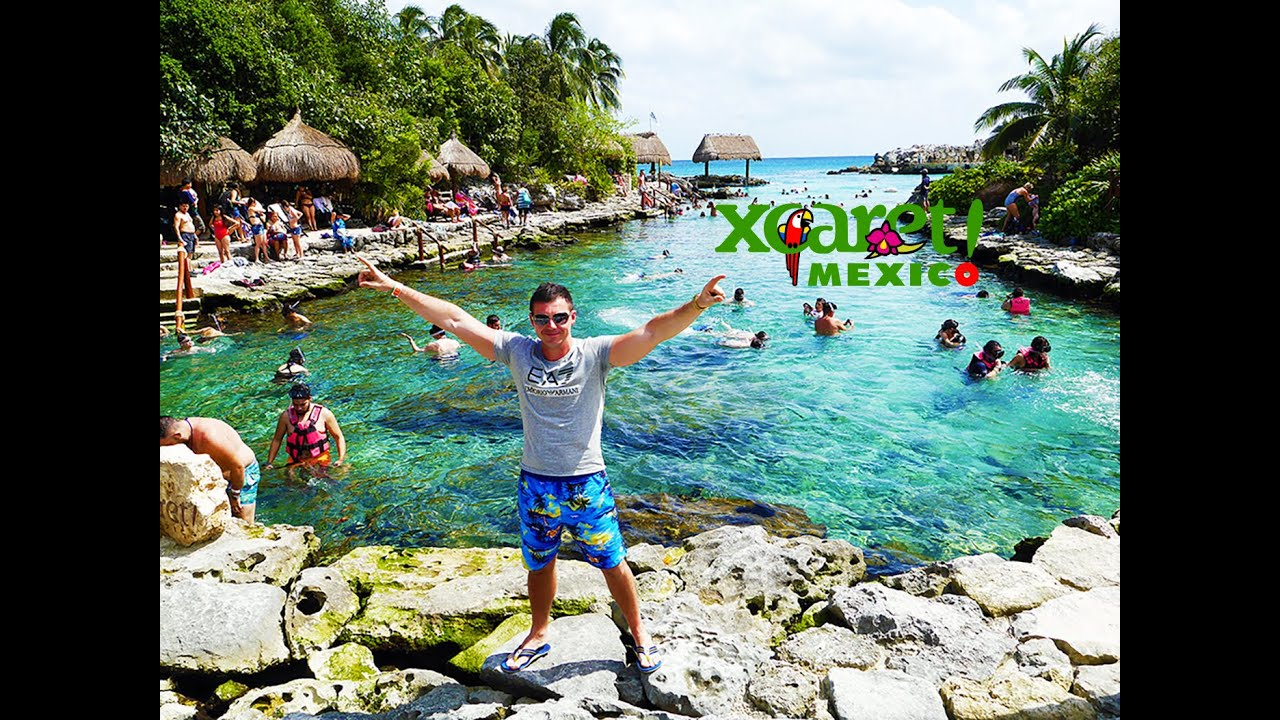 xcaret cancun mexico park riviera maya 4k 2016 viyoutube