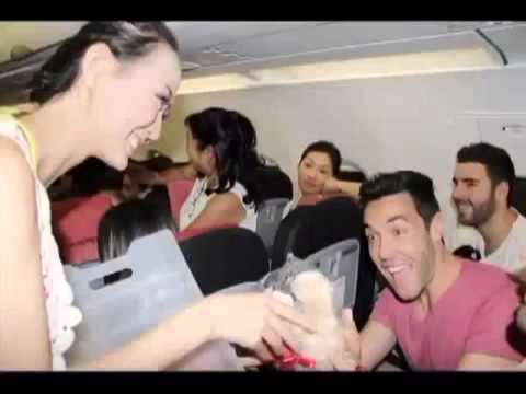 Vietnamese airline fined for in flight bikini dance show Raw Video