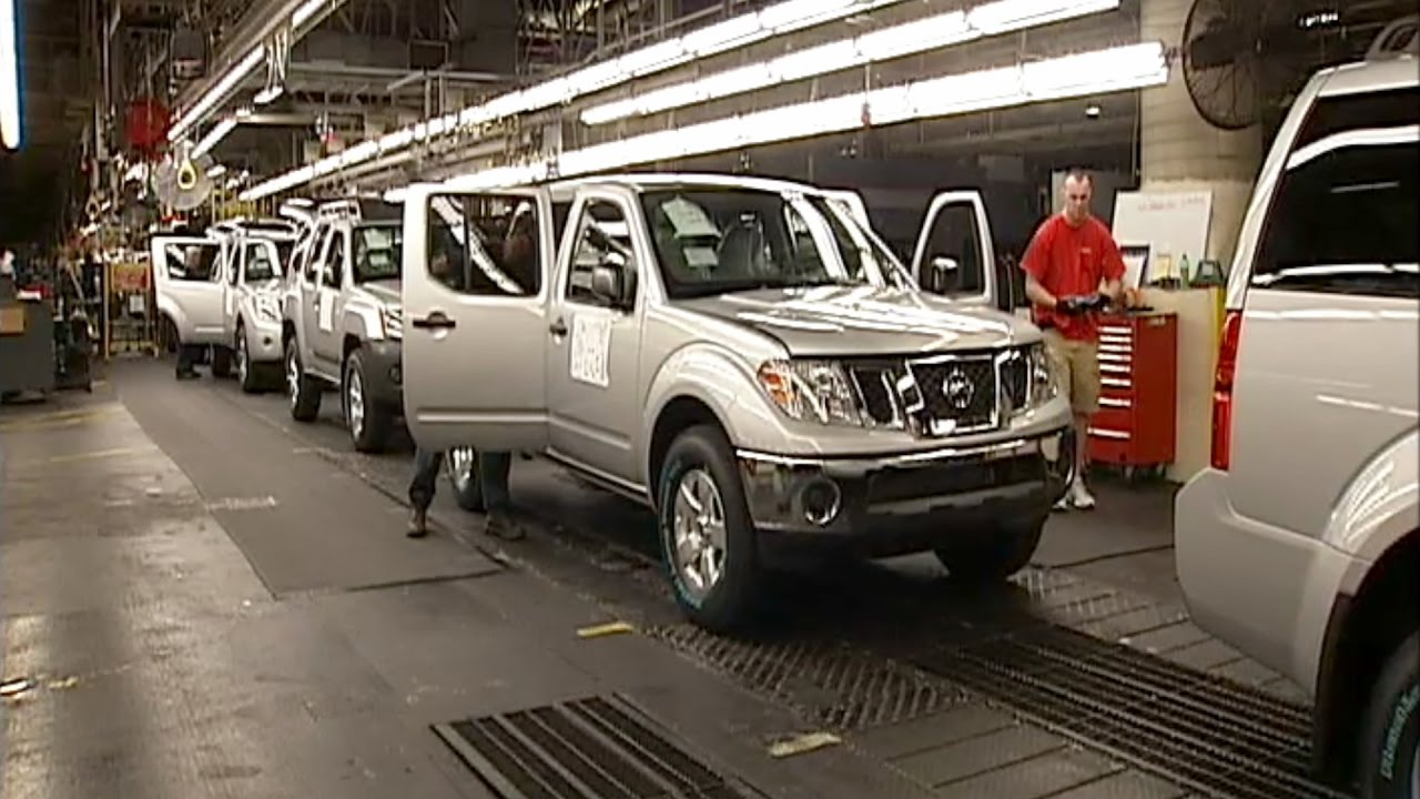 Nissan production at smyrna tennessee