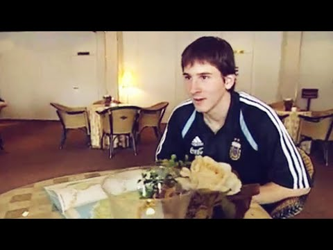 Leo Messi's first interview proves he was born ready | Oh My Goal