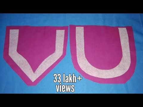 Simple neck design Cutting and Stitching Tutorial in Hindi | Kurti Neck Design |