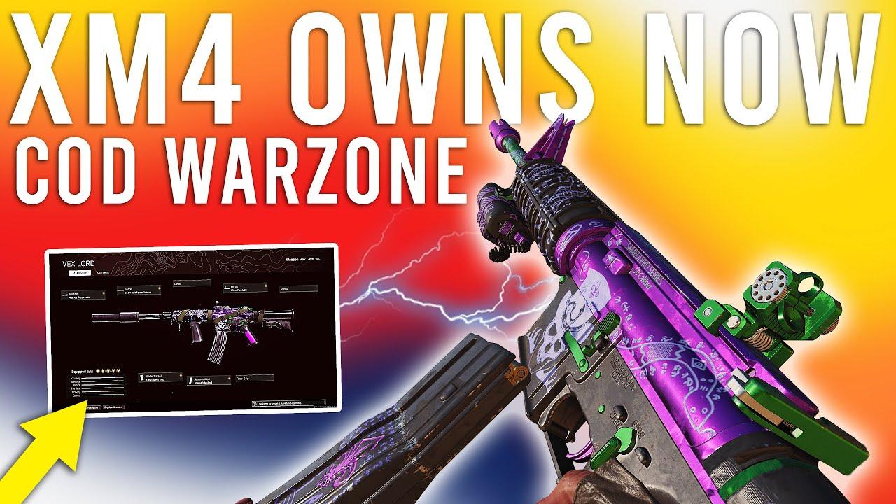 The XM4 is GODLIKE now in Warzone! ( Diamond Lobby )