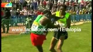 Ethio eritrean athlets Fight/የኢትዮጵያና ኤርትራዊ አትሌቶቹ ፀብ