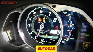 Lamborghini Aventador full-throttle acceleration - autocar.co.uk thumbnail