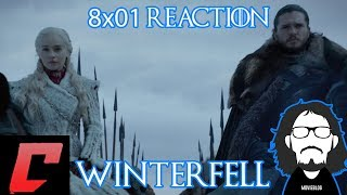 """Game of Thrones 8x01 """"Winterfell"""" Reaction w/Caleel"""