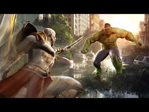 ARCADE MODE! | ALL EPISODES (Hulk vs. Kratos, Batman vs. Iron Man, Kratos vs. MCU Thor etc.) 45mins