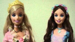 Barbie as the princess and the pauper dolls singing in english