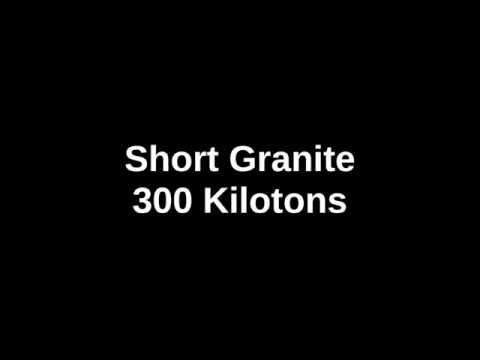 """Operation Grapple - Short Granite"" British nuclear test series / イギリス核実験「グラップル作戦ショートグラナイト」"