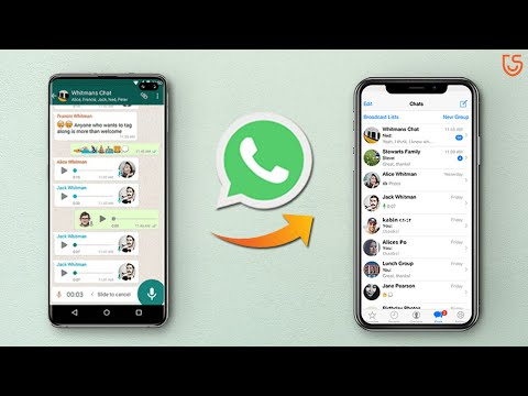 Learn How to Transfer Whatsapp Messages from Android to iPhone using these 3 methods. ▻ Method 1: An.