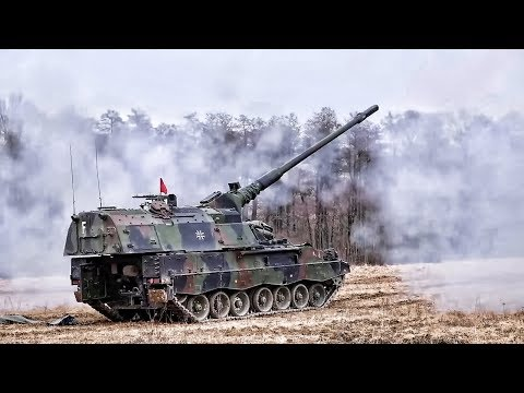 German Panzerhaubitze 2000 • Exercise Dynamic Front 2018