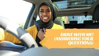 DRIVE WITH ME ft Q&A