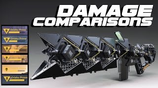Sleeper Simulant DAMAGE COMPARISONS!! Unbiased Review! Sleeper Simulant VS Black Spindle & MORE!