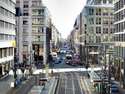 Places To See In ( Berlin - Germany ) Friedrichstrasse