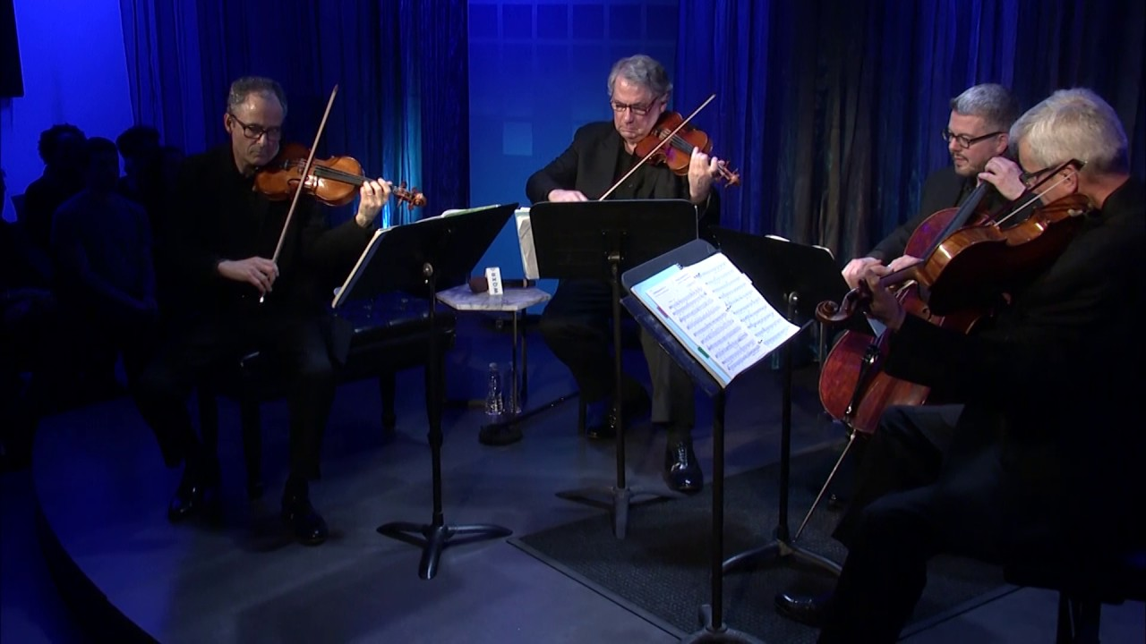 The Emerson String Quartet: 1st mvt of Shostakovich Fourth Quartet