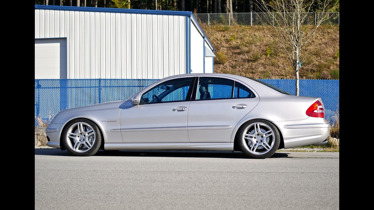 mercedes benz e55 amg w211 sl wheels gh4 youtube. Black Bedroom Furniture Sets. Home Design Ideas