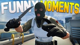 CS:GO Funny Moments - Camping, Bad Players, Getting Ranked!