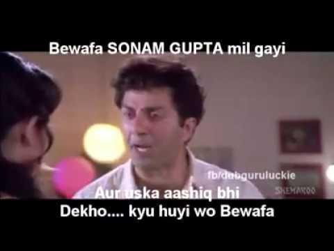 Sonam Gupta bewafa jokesDub
