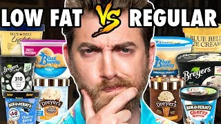 Download Low Fat vs. Regular Ice Cream Taste Test Mp3 and Videos