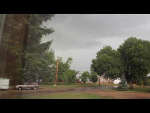 Severe Thunderstorm Warning Webster,SD 8/10/2016