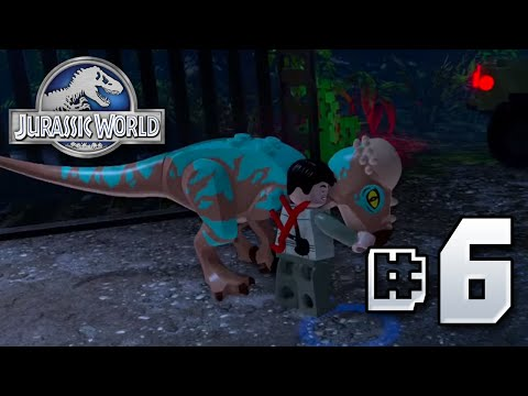 Pachycephalosaurus!! Jurassic World LEGO Game - Ep6