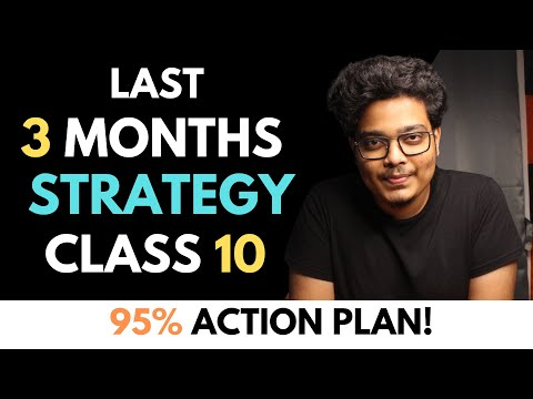 Topper Strategy for Class 10 2021   Last 3 Months Strategy and Timetable   95% Class 10