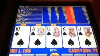 Video Poker Free Play Win
