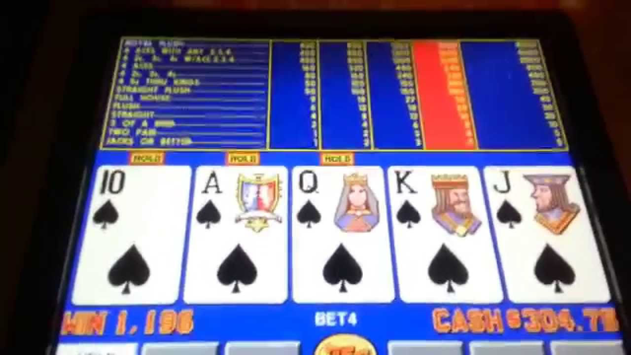 Video poker slot machines strategy palm hotel and casino home page
