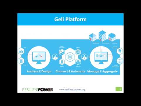 ESyst: Optimizing Energy Storage Savings with Geli's New Online Tool (5.24.2017)
