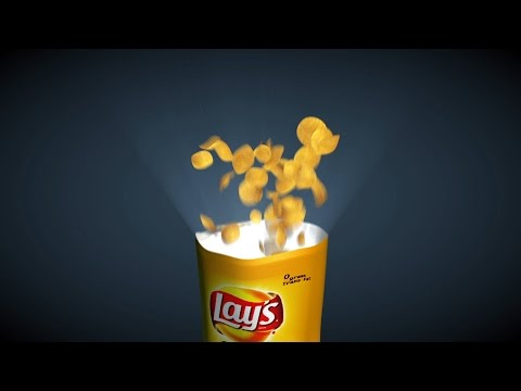 How to model and animate potato chip bag in Cinema 4D - Part 2