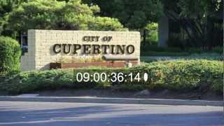 Apple Computer headquarters Cupertino, California unedited
