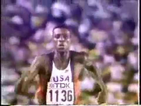 Kejuaraan Dunia Lompat Jauh Walking In The Air Mike Lewis