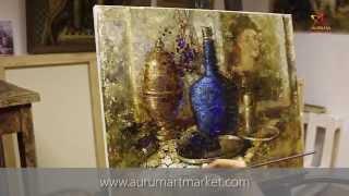 Видео урок живописи Елены Ильичевой - Присутствие Рафаэля промо